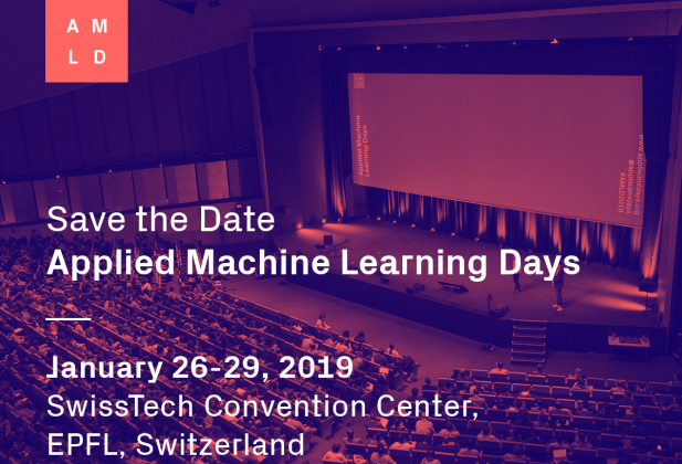 L'ECAL at Applied Machine Learning Days 4020