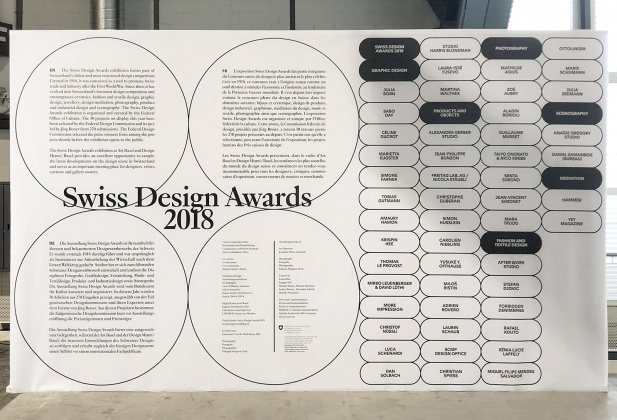 8 diplômés de l'ECAL lauréats des Swiss Design Awards 2018 3772