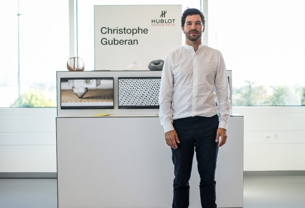Hublot Design Prize to Christophe Guberan 3287