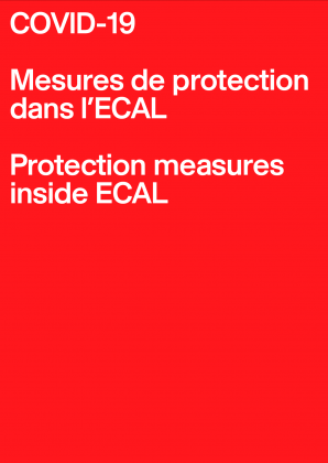 COVID-19: Protection measures inside ECAL 4437