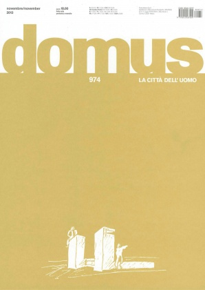 Article about ECAL in Domus 2133