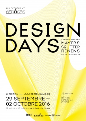 Design Days at ECAL and in Renens 3226