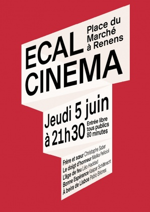 Projection des films de l'ECAL à Renens 2326