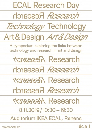 ECAL Research Day 2019: Technology and Research in Art and Design   4158