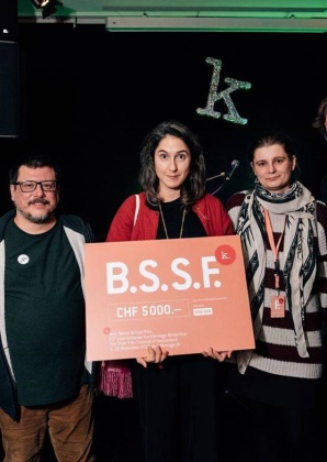 Best Film Award from Swiss Film Schools to Nora Longatti  4316
