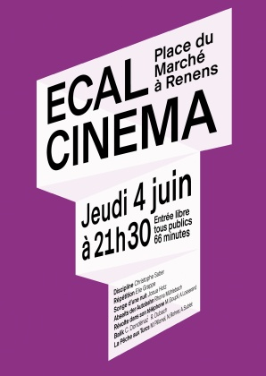 ECAL Cinema: screening in Renens 2837