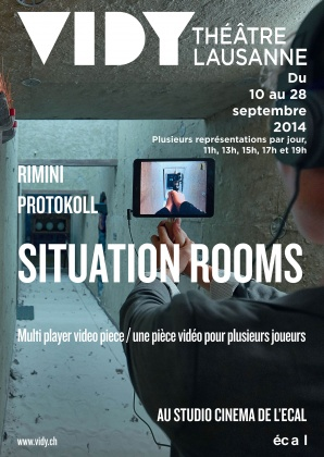 Show «Situation Rooms» at ECAL 2458