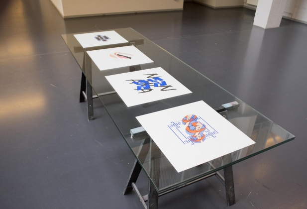 Jérôme Baccaglio, drawings, ECAL, Fine Arts Master 10128