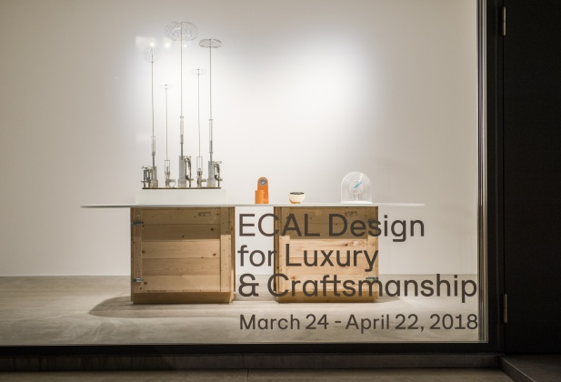ECAL MAS in Design for Luxury & Craftsmanship exhibition