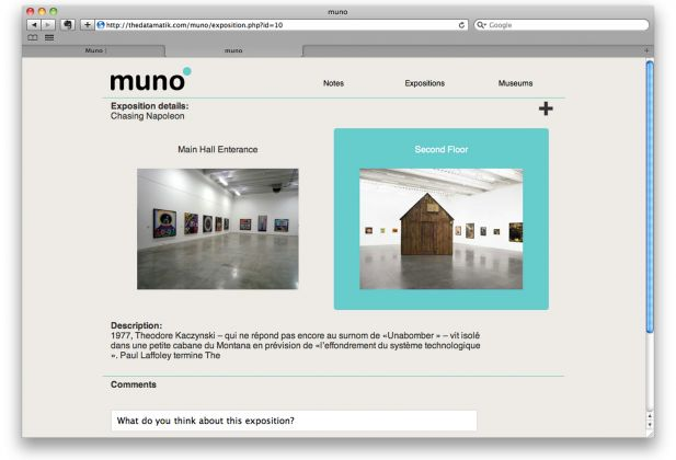 MEDIA INTERACTION DESIGN, Muno Museum Notes, Cem Sever 3112