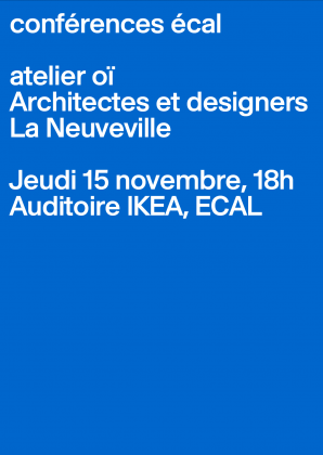 ECAL Lectures: atelier oï