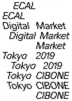 """ECAL Digital Market"" in Japan From 23 to 29 May, CIBONE Tokyo 20032"
