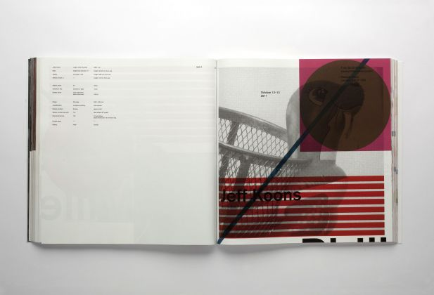 DESIGN GRAPHIQUE, Artforum 2011 Annual Report, Teo Schifferli 1462