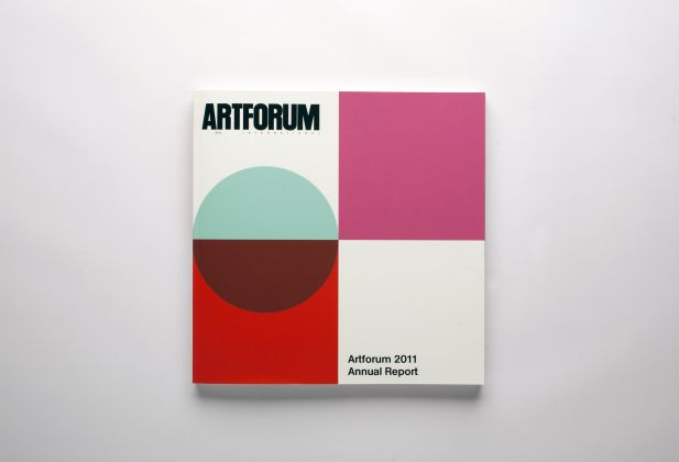 DESIGN GRAPHIQUE, Artforum 2011 Annual Report, Teo Schifferli 1459