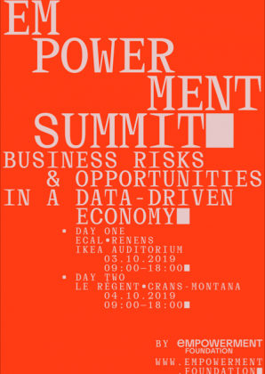 Empowerment Summit: Business risks & opportunity in a data-driven economy Thursday 3 October at ECAL  24220