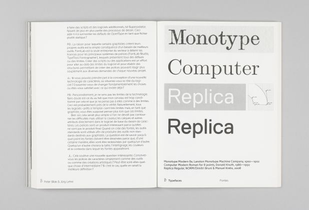Typeface Program, JRP Ringier 3890