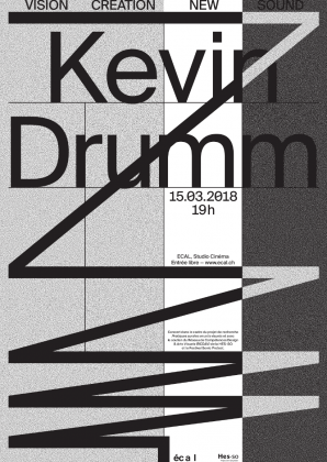 ECAL Concert: Kevin Drumm